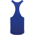 Royal - Side - Skinnifit Mens Plain Sleeveless Muscle Vest