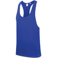 Royal - Lifestyle - Skinnifit Mens Plain Sleeveless Muscle Vest