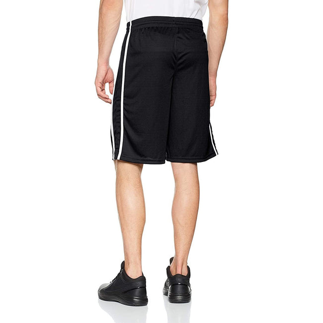 Red-White - Front - Spiro Mens Quick Dry Basketball Shorts