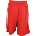 Royal-White - Front - Spiro Mens Quick Dry Basketball Shorts