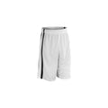 White-Black - Front - Spiro Mens Quick Dry Basketball Shorts