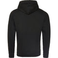 Jet Black - Back - AWDis Hoods Mens Cross Neck Hoodie