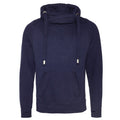 Oxford Navy - Front - AWDis Hoods Mens Cross Neck Hoodie