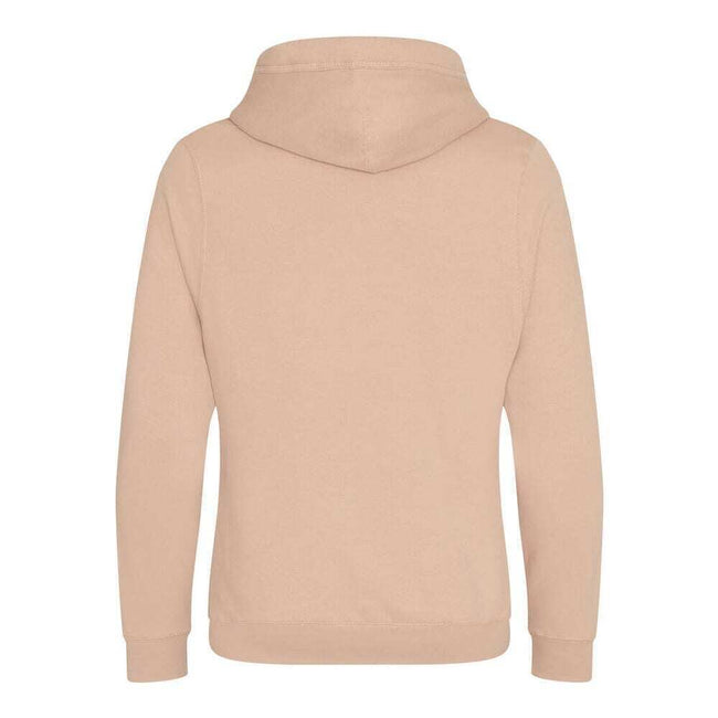 Black Smoke - Front - AWDis Hoods Mens Cross Neck Hoodie