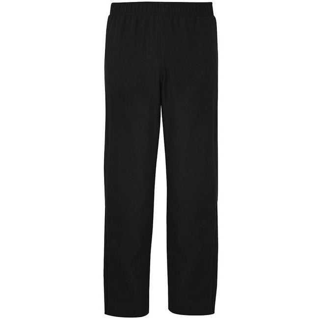 Jet Black - Front - AWDis Just Cool Mens Sports Tracksuit Bottoms