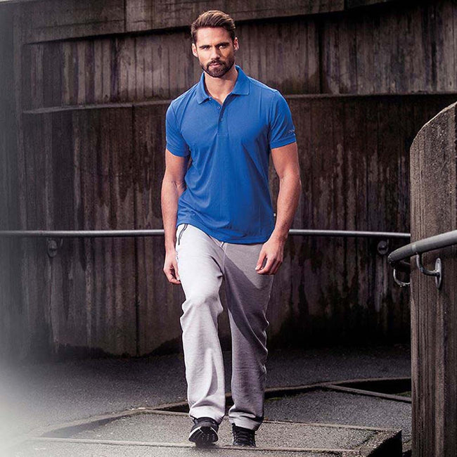Black - Front - Craft Mens Classic Pique Short Sleeve Polo Shirt