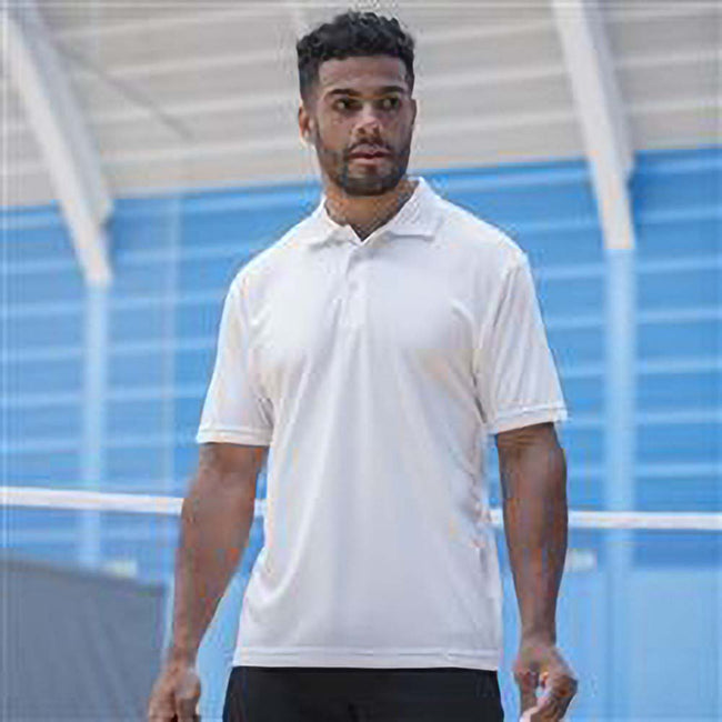 Navy - Front - Craft Mens Classic Pique Short Sleeve Polo Shirt