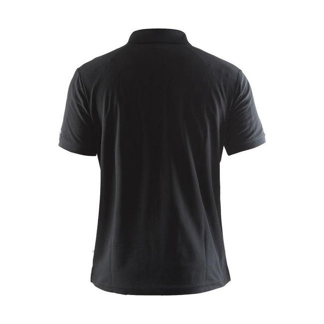Swedish Blue - Front - Craft Mens Classic Pique Short Sleeve Polo Shirt