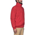 True Red-True Navy - Close up - Musto Mens Snug Blouson II Showerproof Jacket
