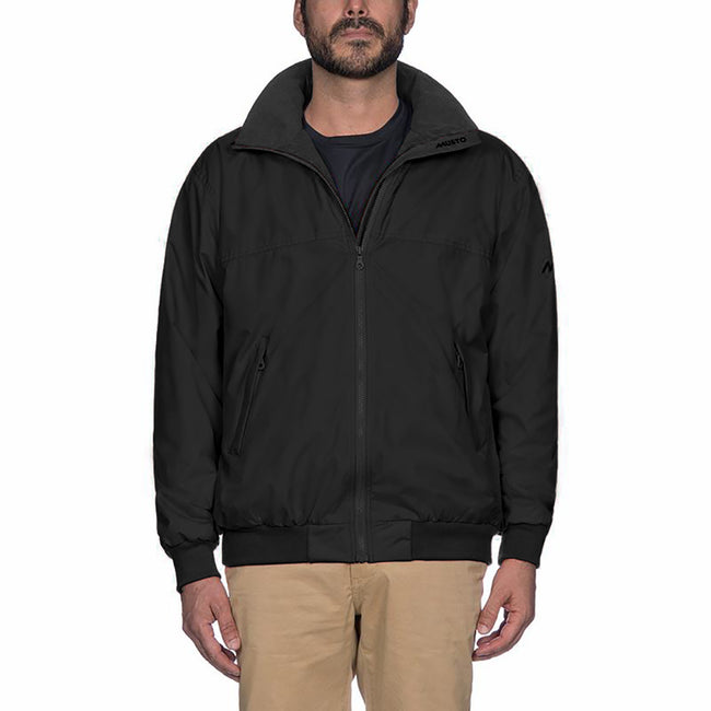 Black-Black - Back - Musto Mens Snug Blouson II Showerproof Jacket