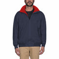 True Navy-True Red - Back - Musto Mens Snug Blouson II Showerproof Jacket