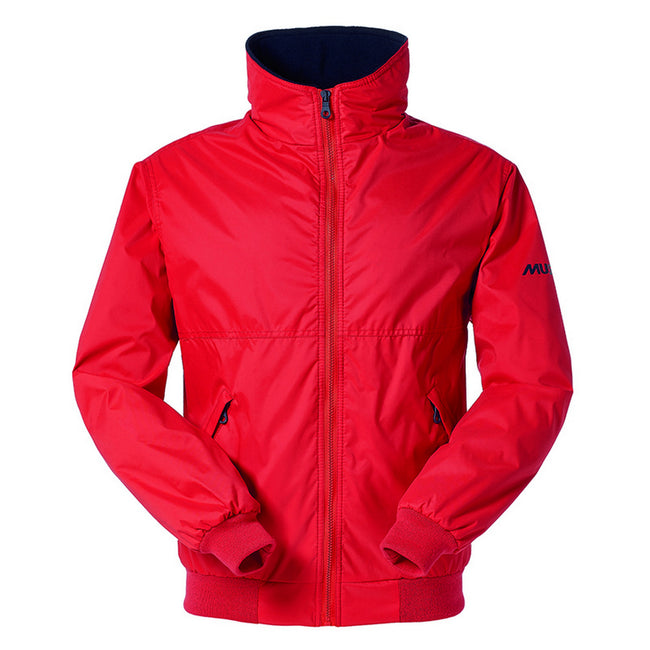 True Red-True Navy - Front - Musto Mens Snug Blouson II Showerproof Jacket