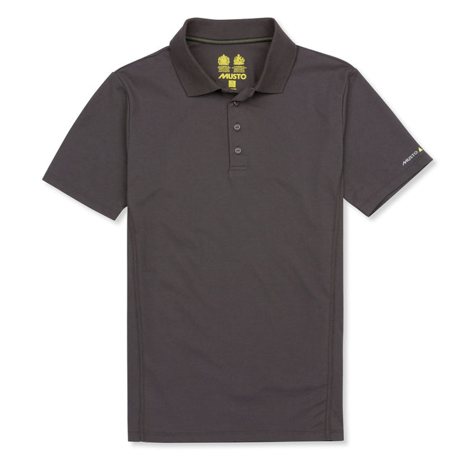 Charcoal - Front - Musto Mens Evolution Sunblock Short Sleeve Polo Shirt
