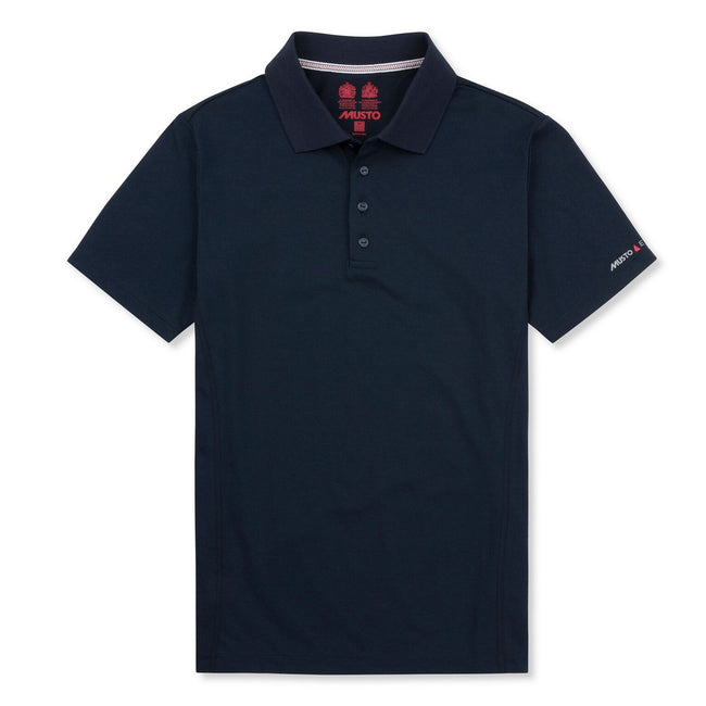 True Navy - Front - Musto Mens Evolution Sunblock Short Sleeve Polo Shirt