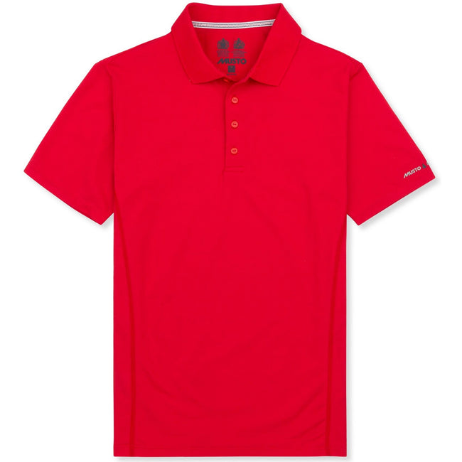 True Red - Front - Musto Mens Evolution Sunblock Short Sleeve Polo Shirt