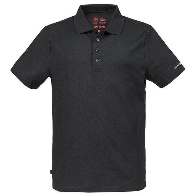 Black - Front - Musto Mens Evolution Sunblock Short Sleeve Polo Shirt