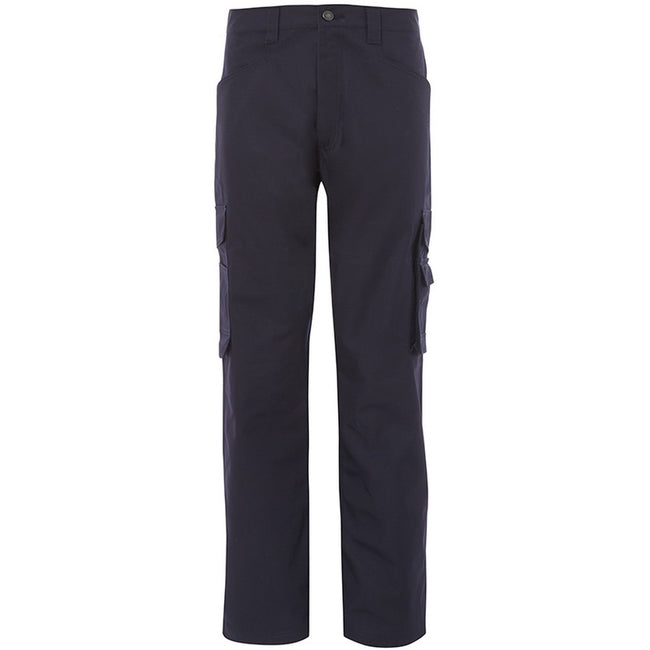 Navy - Front - Alexandra Mens Tungsten Service Trousers