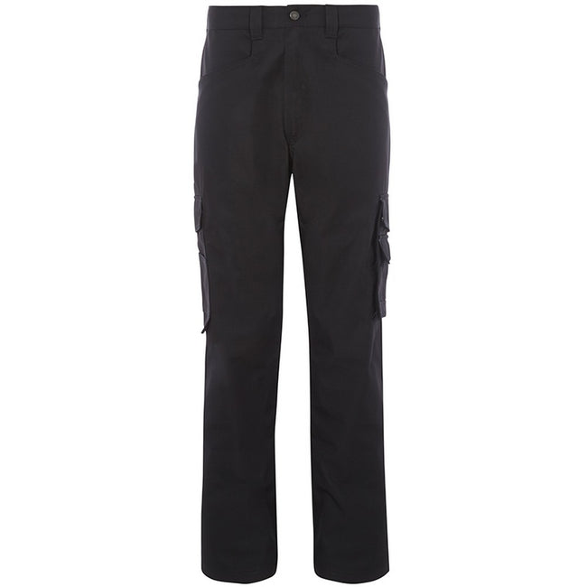 Black - Front - Alexandra Mens Tungsten Service Trousers