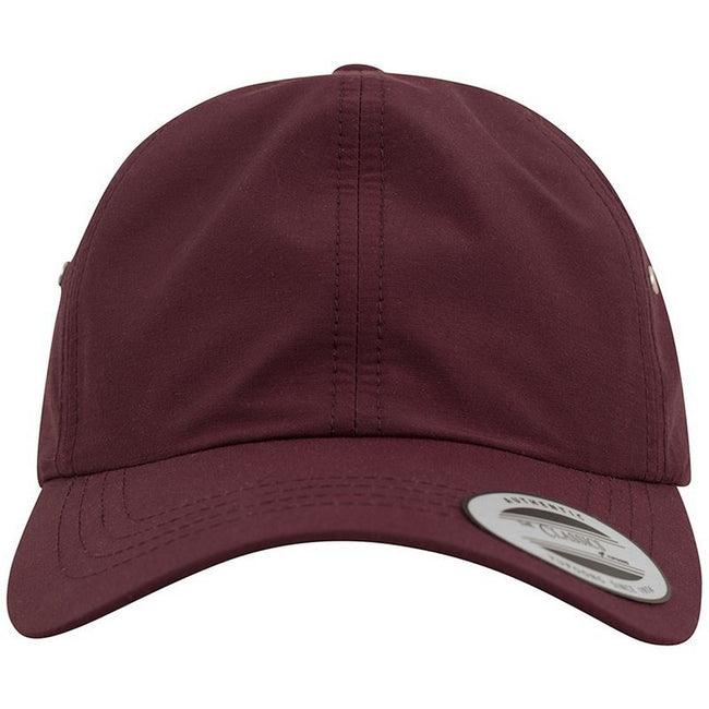 Maroon - Lifestyle - Yupoong Flexfit Low Profile Water Repellent Baseball Cap