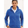 Royal - Back - Henbury Womens-Ladies Microfleece Anti-Pill Jacket