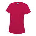 Desert Sand - Back - Just Cool Womens-Ladies Sports Plain T-Shirt