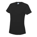 Fire Red - Side - Just Cool Womens-Ladies Sports Plain T-Shirt