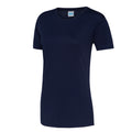 Jet Black - Side - Just Cool Womens-Ladies Sports Plain T-Shirt