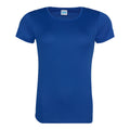Sapphire Blue - Side - Just Cool Womens-Ladies Sports Plain T-Shirt