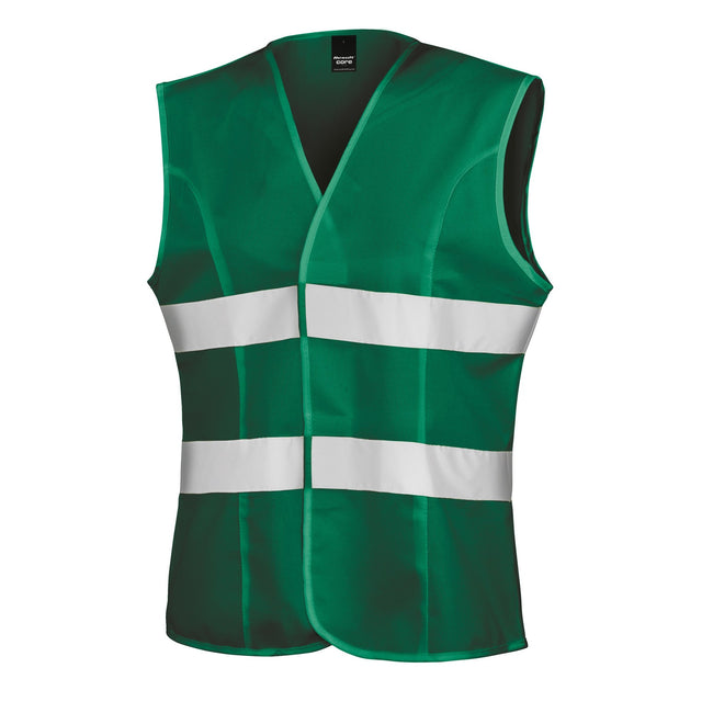 Paramedic Green - Front - Result Womens-Ladies Reflective Safety Tabard (Pack of 2)