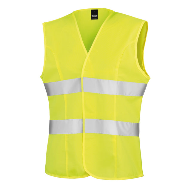 Fluorescent Yellow - Front - Result Womens-Ladies Reflective Safety Tabard (Pack of 2)