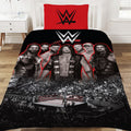 Red-Black - Back - WWE Wrestling Ring Duvet Set
