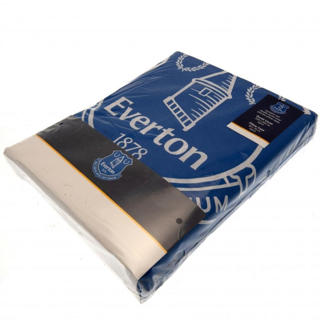 Blue-White - Lifestyle - Everton FC Pulse Duvet Set
