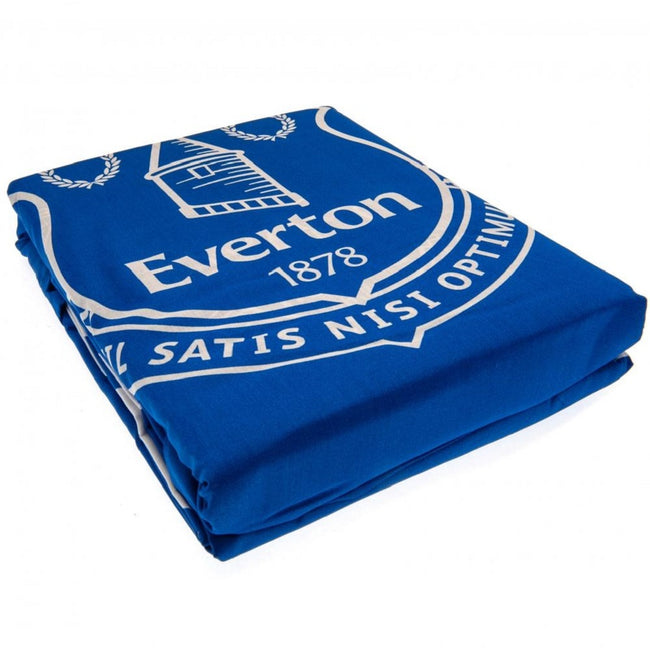 Blue-White - Pack Shot - Everton FC Pulse Duvet Set