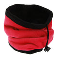 Red - Front - FLOSO Womens-Ladies Multipurpose Fleece Neckwarmer Snood - Hat