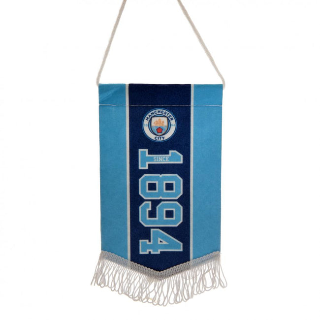 Blue - Front - Manchester City FC Since Mini Pennant