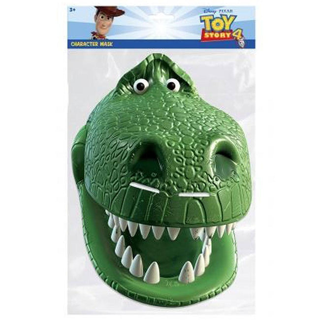 Green - Back - Toy Story Mask Rex