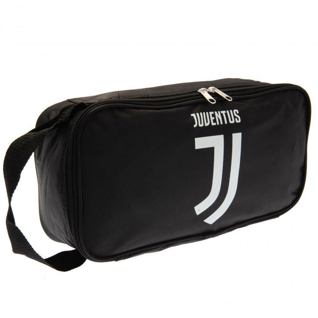 Black - Front - Juventus FC Boot Bag