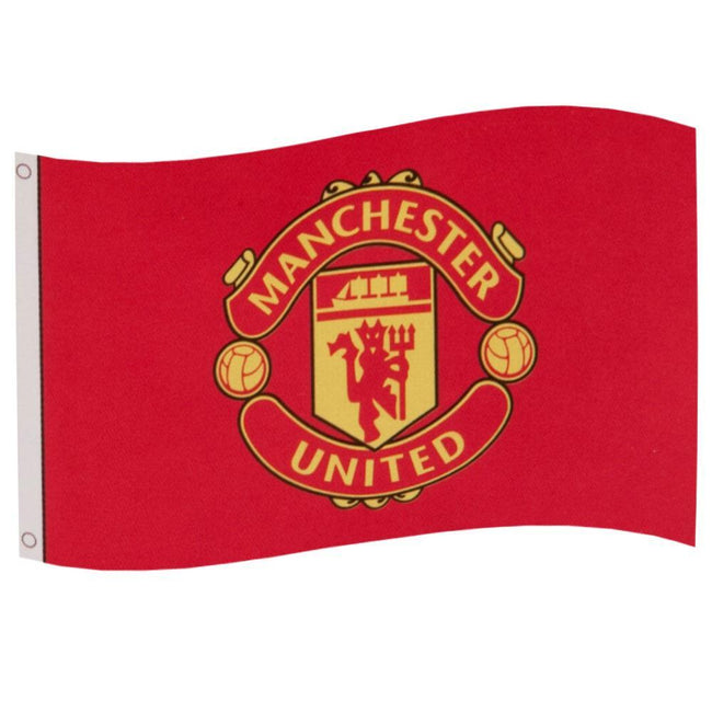 Red - Front - Manchester United FC Flag