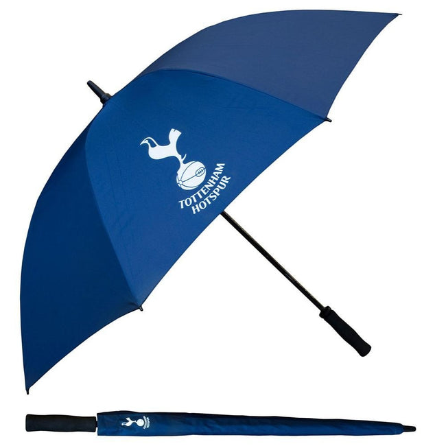 Blue - Front - Tottenham Hotspur FC Single Canopy Golf Umbrella
