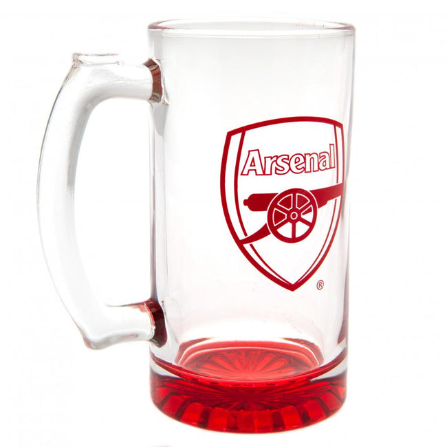 Red - Back - Arsenal FC Stein Glass Tankard