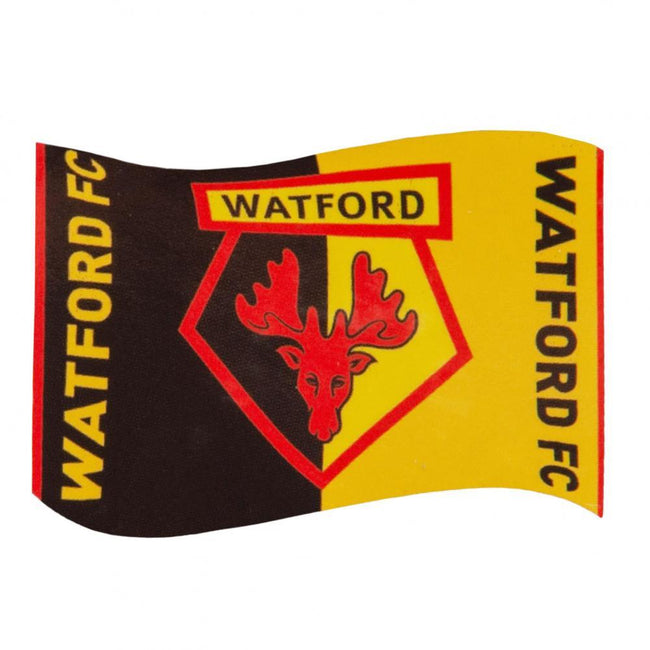 Black-Yellow - Front - Watford FC Supporters Flag