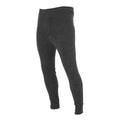 Charcoal - Front - FLOSO Mens Thermal Underwear Long Johns-Pants (Standard Range)