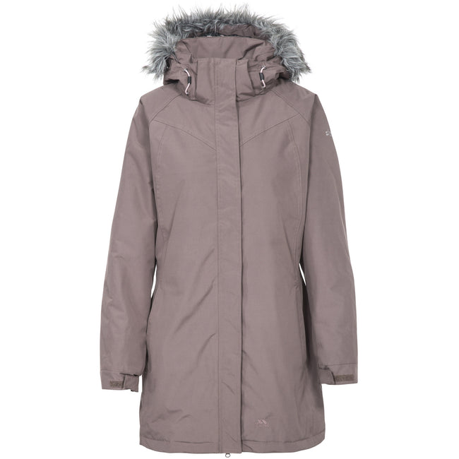 Dusty Heather - Front - Trespass Womens-Ladies San Fran Padded Jacket