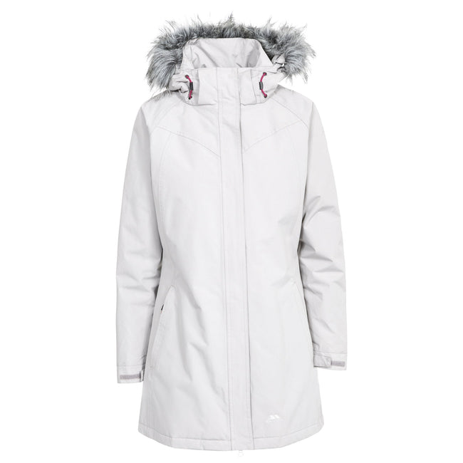 Pebble - Front - Trespass Womens-Ladies San Fran Padded Jacket