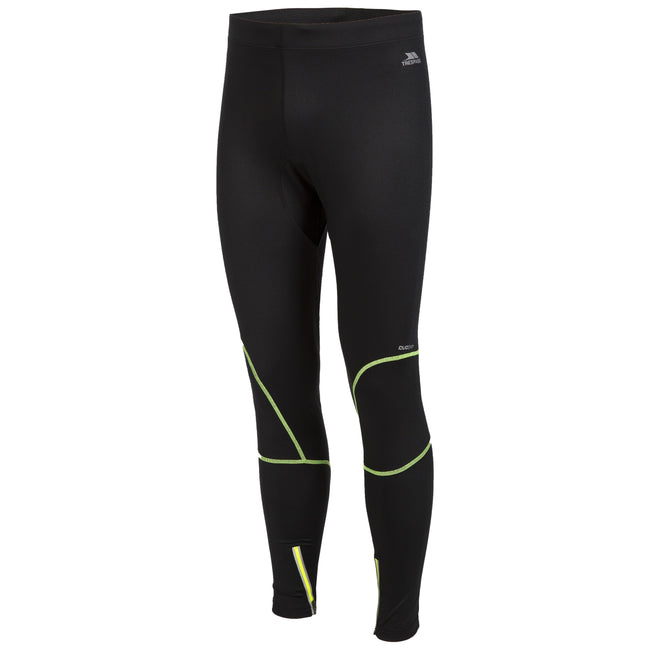 Black - Front - Trespass Mens Bang Active Trousers-Leggings