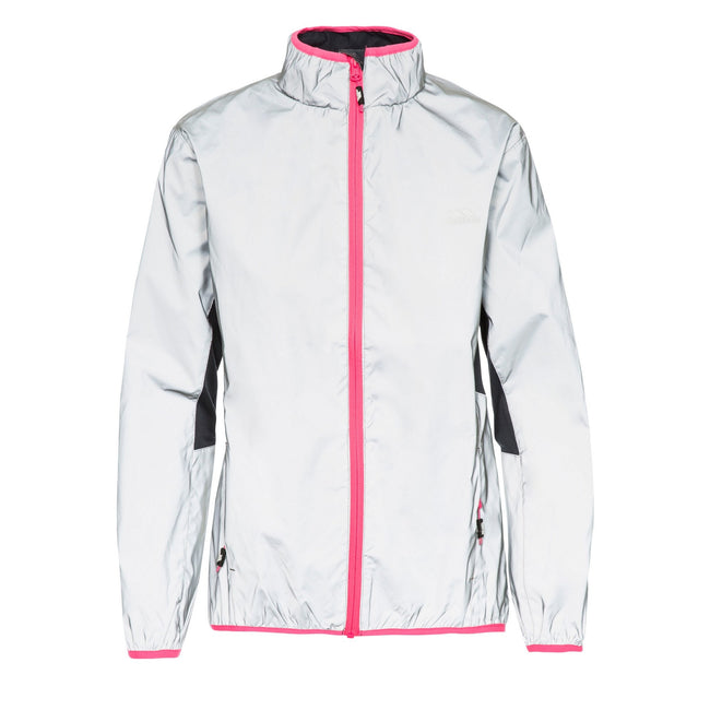 Silver Reflective - Side - Trespass Womens-Ladies Lumi Active Jacket