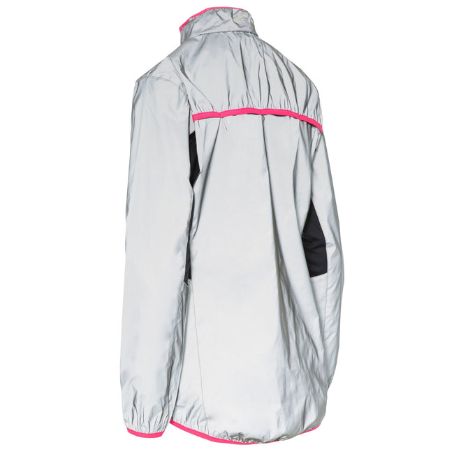 Silver Reflective - Lifestyle - Trespass Womens-Ladies Lumi Active Jacket