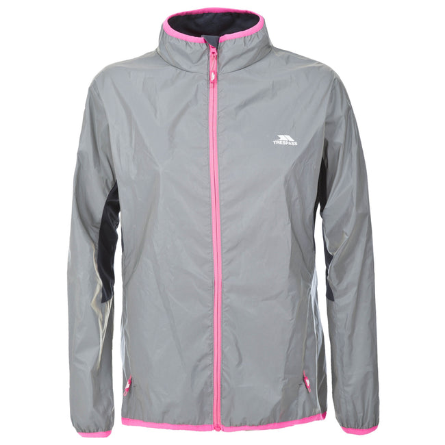 Silver Reflective - Front - Trespass Womens-Ladies Lumi Active Jacket