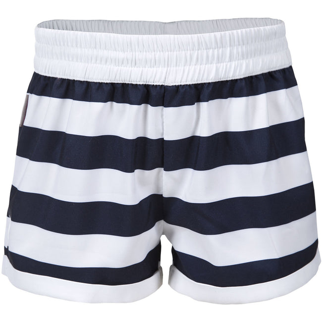 Ink Print - Front - Trespass Childrens Girls Wini Summer Shorts