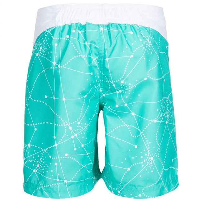 Navy - Front - Trespass Childrens Girls Mabel Summer Shorts
